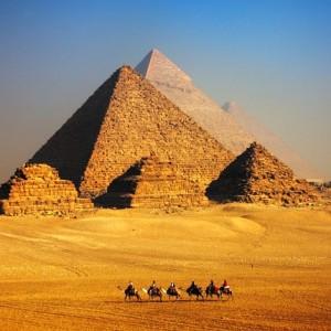 Egypt Northern Red Seam Giza, Luxor  - July 2019 @ Giza pyramids, Egypt